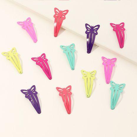 Korea  spray paint bow hairpin set cute baby bb clip bangs clip set NHNU252335's discount tags