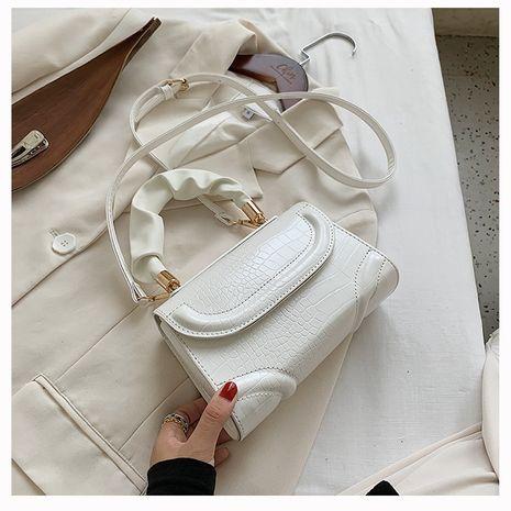 new stone pattern messenger bag fashion simple texture shoulder bag wholesale NHLH252342's discount tags