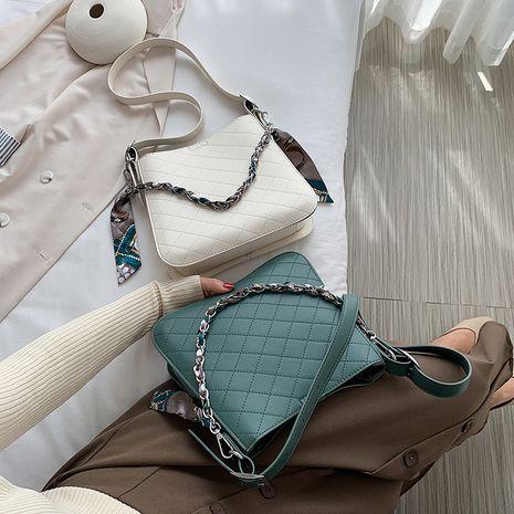 New Korean One Shoulder Underarm Fashion Messenger Bucket Bag wholesale NHLH252346's discount tags