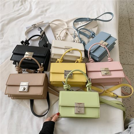 new summer retro fashion all-match single shoulder messenger portable square bag wholesale NHLH252349's discount tags