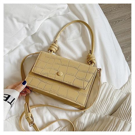 new wave summer messenger fashion one-shoulder portable small square handbag wholesale NHLH252360's discount tags