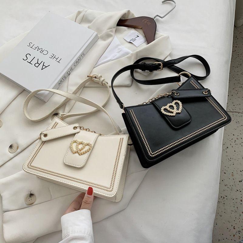 fashion new chain messenger texture simple one-shoulder armpit bag wholesale NHLH252367