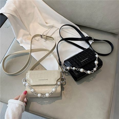 new all-match pearl handbag fashion one-shoulder messenger bag wholesale NHLH252389's discount tags