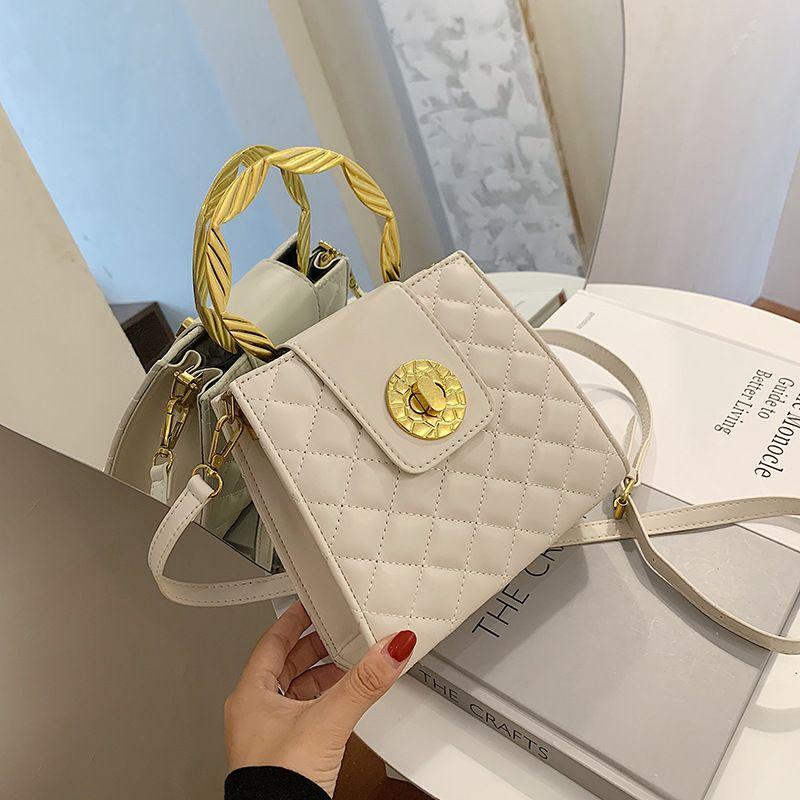 New Fashion One Shoulder Messenger  Portable Square Bag wholesale NHLH252430