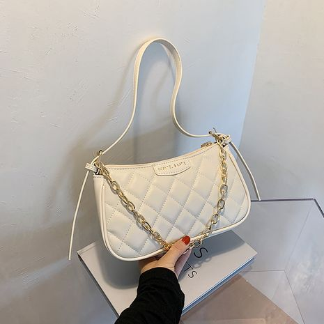 new simple fashion all-match chain shoulder messenger portable small square bag wholesale NHLH252458's discount tags