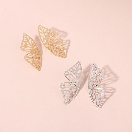 Hot selling fashion creative fashion elegant butterfly earrings wholesale NHRN260364's discount tags