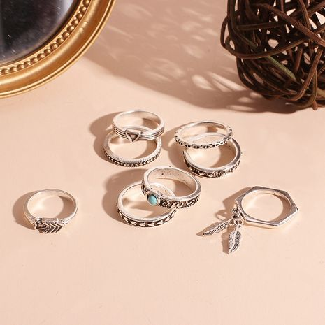 Hot selling fashion Wave Ring Set wholesale NHRN260415's discount tags