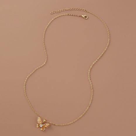Collier pendentif papillon creux multicouche simple de mode de vente chaude NHAN260443's discount tags