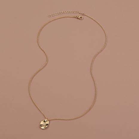Hot selling fashion simple and small sky star alloy pendant necklace wholesale NHAN260475's discount tags