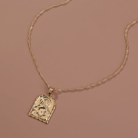 Vente chaude collier pendentif portrait de mode en gros NHAN260477's discount tags