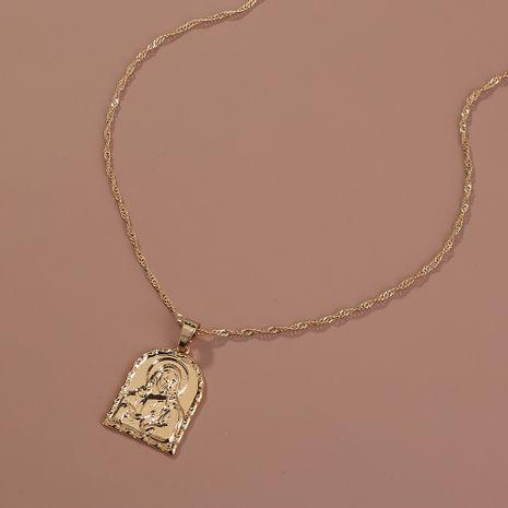Hot selling fashion portrait pendant necklace wholesale NHAN260477's discount tags