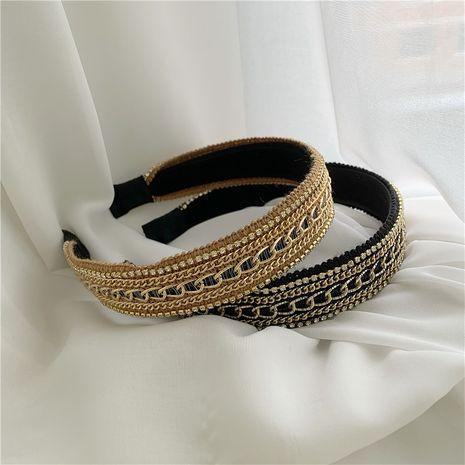 retro non-slip pressure hair simple Korean headband  NHYQ260507's discount tags