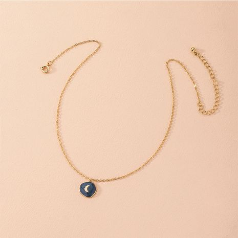 Hot selling fashion simple moon necklace retro pendant women's necklace NHAI260533's discount tags