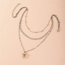 Hot Selling Mode mehrschichtige Retro übertriebene Original Halskette Großhandel NHAI260541
