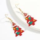 Hot selling fashion alloy Christmas tree earrings wholesale NHJE260554