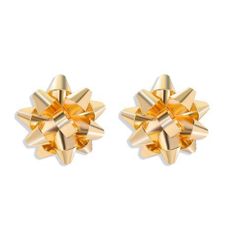 Pendientes de flor de metal simple de moda vendedora caliente al por mayor NHJQ260585's discount tags