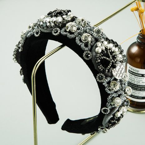 creative luxury rhinestone gemstone handmade headband  NHLN260602's discount tags