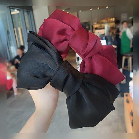 korean fashion simple new big  bow headband wholesale  NHOF260621's discount tags