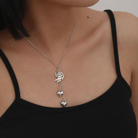 Mode nouveau Simple Cupid Eros Clavicule Alliage Love New Collier ensemble NHXR260646's discount tags