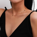 fashion new trendy retro simple alloy acrylic clavicle necklace for women NHXR260647