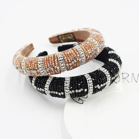 New  Baroque headband crystal colorful rhinestone headband  NHWJ260669's discount tags