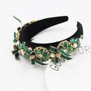 New fashion  Baroque diamondstudded color bow headband  NHWJ260670