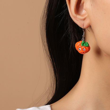 Pendientes de calabaza vegetales creativos de dibujos animados lindo tendencia de moda de Corea NHKQ260734's discount tags