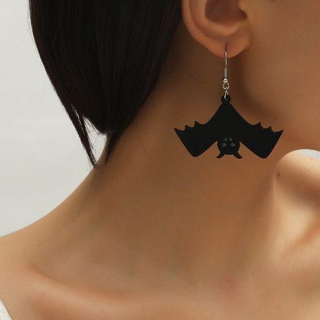 tendencia de moda serie oscura murciélago acrílico simple creativo Halloween nuevos pendientes NHKQ260736's discount tags