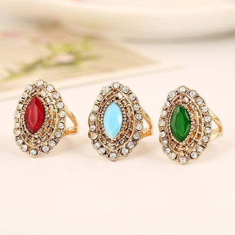 Hot selling fashion personality exaggerated  retro ring  NHKQ260739's discount tags
