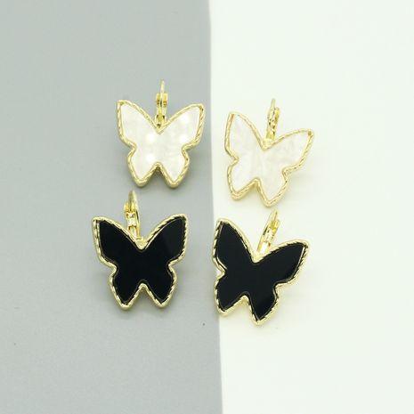 Pendientes geométricos vendedores calientes de la mariposa de la moda al por mayor NHGO260815's discount tags