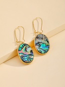 Hot selling fashion imitation abalone shell earrings wholesale NHGO260819