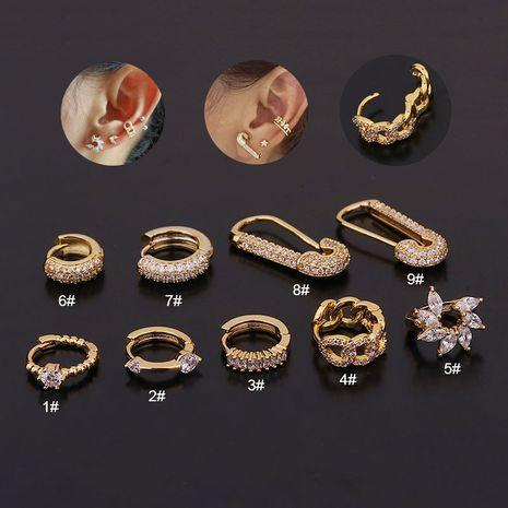New fashion creative geometric earrings NHEN260924's discount tags