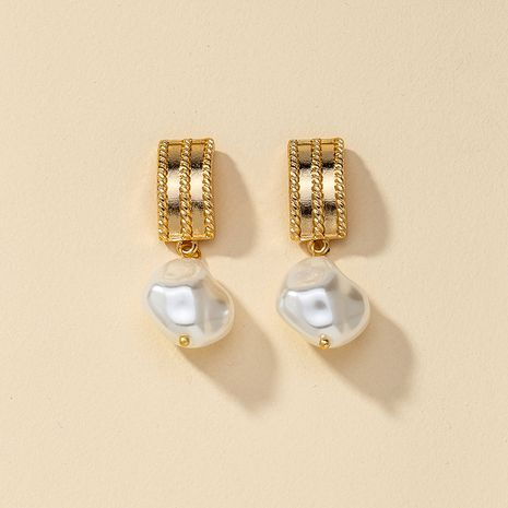 hot-saling fashion new 1 pair of pearl alloy earrings  NHGU260957's discount tags