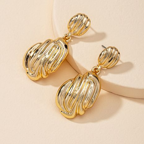 Fashion new women's metal alloy earrings hot-selling wholesale NHGU260966's discount tags