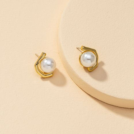 new 1 pair of pearl earrings for women hot-selling wholesale NHGU260974's discount tags