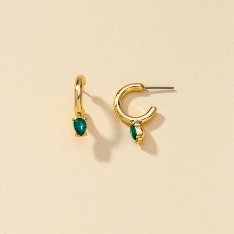 Fashion new 1 pair of diamond stud hot-selling earrings for women NHGU260979's discount tags