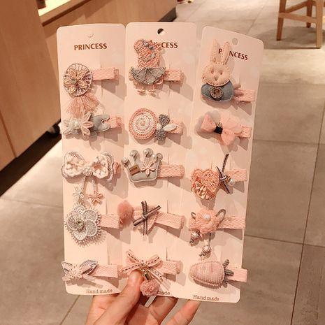Korean fashion cute  Little Girl Child  Hairpin set  NHDQ261016's discount tags