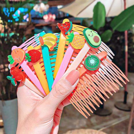 Peigne à cheveux pour enfants dessin animé insert peigne frange sauvage peigne en épingle à cheveux ensemble de cinq pièces NHNA261029's discount tags
