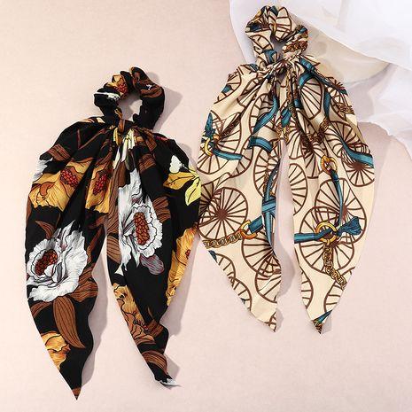 Vente chaude mode cercle cheveux cercle ruban impression noué cheveux chouchous en gros NHAU261084's discount tags
