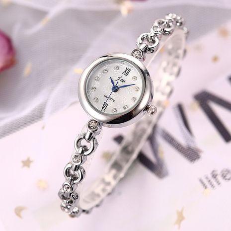 Reloj de pulsera fino con diamantes de imitación para mujer, tendencia de moda, reloj de pulsera con cara de copo de nieve NHSS261092's discount tags