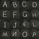 Hot selling fashion simple letter  26 English letters necklace  NHMO261140