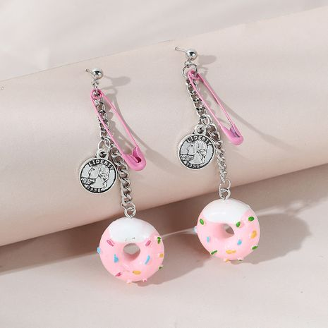 Hot selling fashion personality creative roman avatar donut earrings NHPS261170's discount tags