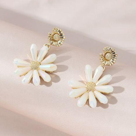 Pendientes simples de la flor de la moda vendedora caliente NHPS261187's discount tags