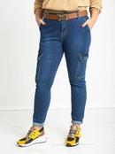 Hot Selling Jeans Womens Side Threedimensional Bag Denim Casual Pants Womens Pants NHWA261353