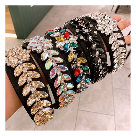full diamond baroque  flash diamond headband  NHHD261201's discount tags