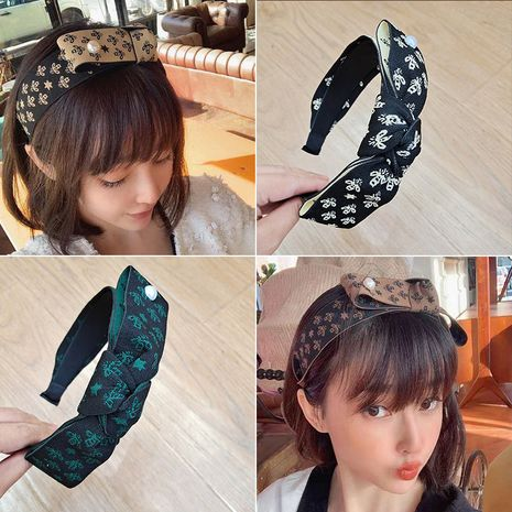 simple wide pressure  super fairy sweet head cave headband  NHUX261297's discount tags