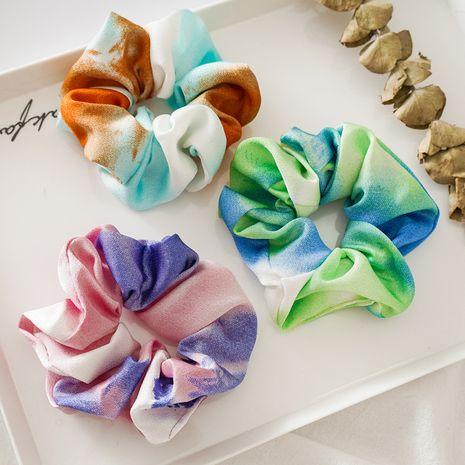 Banda elástica de teñido anudado coreano anillo del intestino grueso gomas para el cabello simples NHDM261315's discount tags