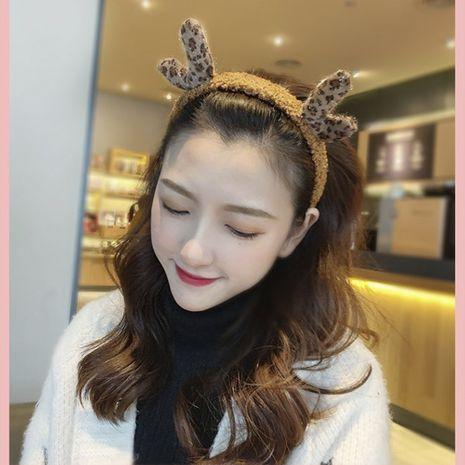 Accesorios para el cabello de la venda del pelo de las muchachas de la cornamenta de la historieta linda de la felpa coreana NHDM261317's discount tags