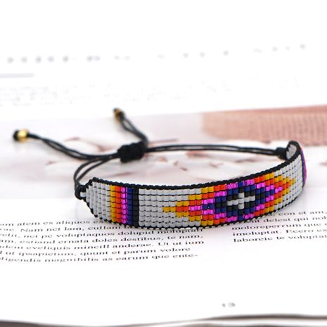 Hot selling fashion rice beads woven handmade bracelet wholesale NHGW261344's discount tags