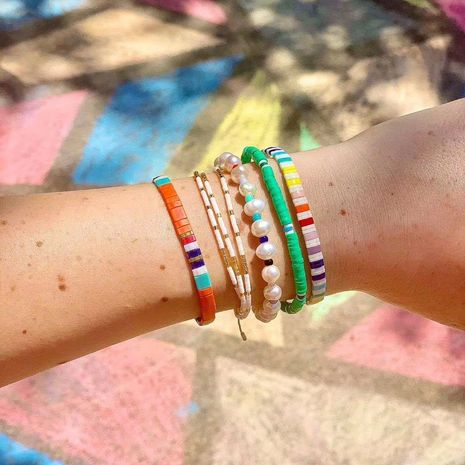 Hot selling fashion imported simple ethnic women's bracelet wholesale NHGW261349's discount tags